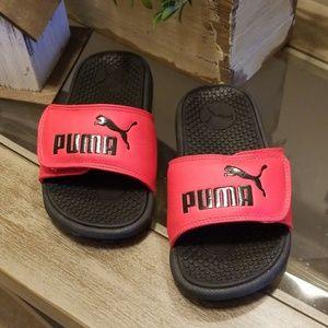 Puma boy slip on sandals 🍁